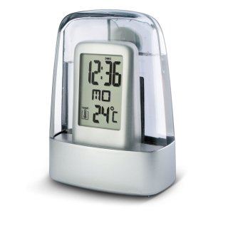 ST-1007R Water Powered Thermometer Clock